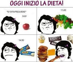 La dieta - meme
