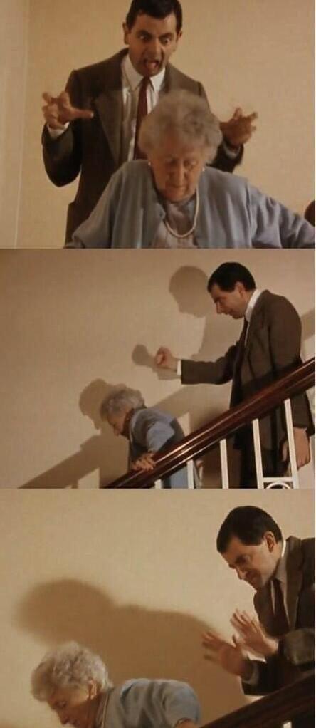 Moi quand quelqu'un marche lentement devant moi.  - meme