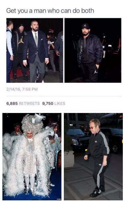 Sir Elton John - meme