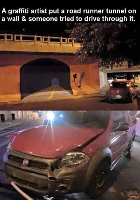 Graffiti Troll - meme