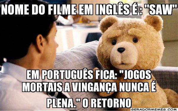 Tradução para português - meme