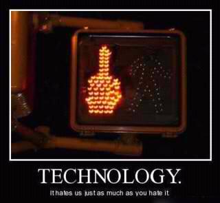 technology finger - meme