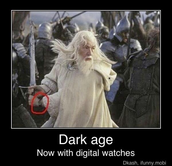 dark age - meme