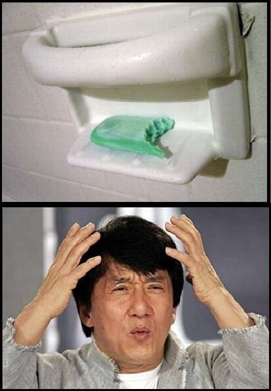 washing your mouth. you are doing it wrong. - meme