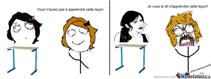 les profs ._. - meme