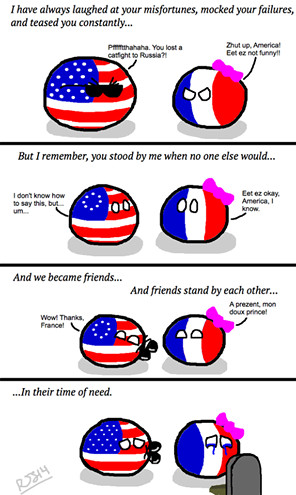 we love you France - meme