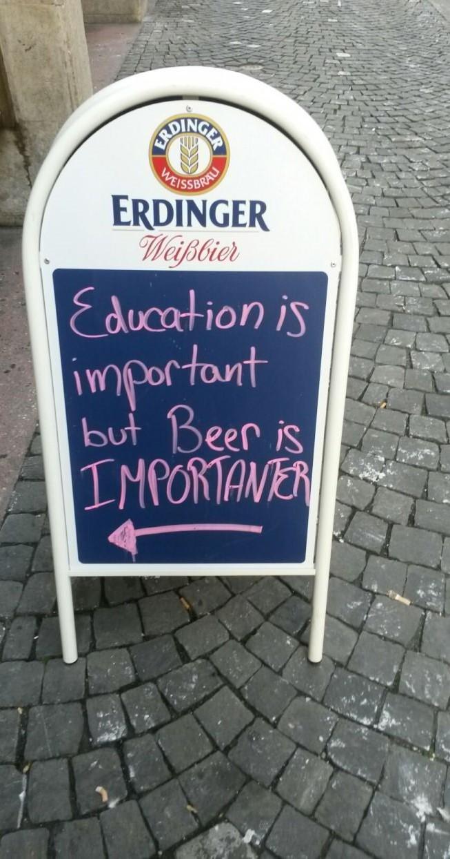 sign outside bar - meme