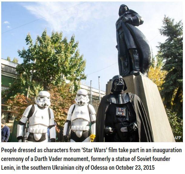 All Hail Lord Vader - meme
