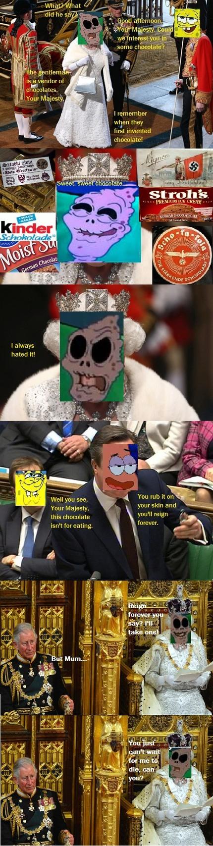 Long live the Queen - meme