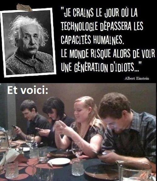 La technologie.... Quel horrible matière... - meme