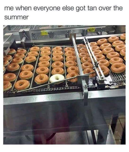 Doughnut Tanning - meme