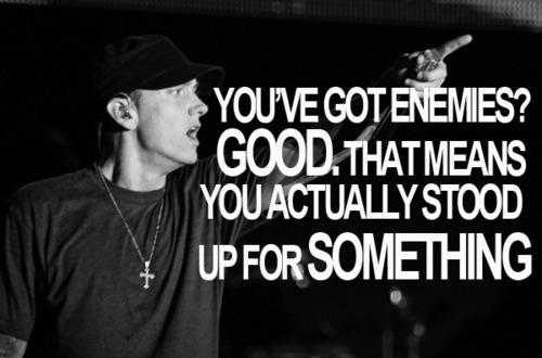 Eminem is awsm - meme
