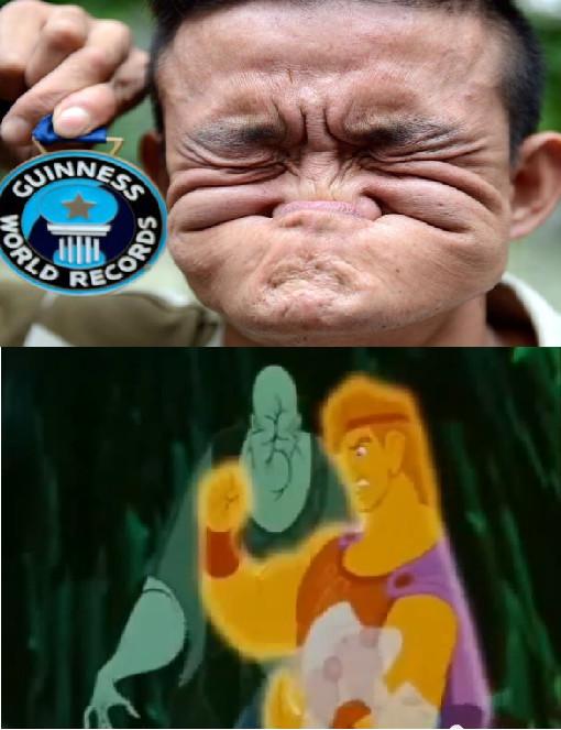 Way to go Jerkules - meme