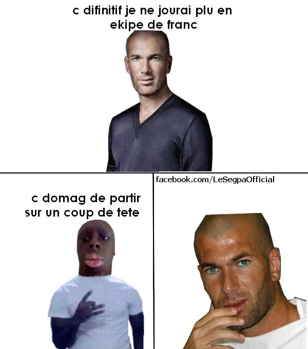 Mamadou Segpa Zidane - meme