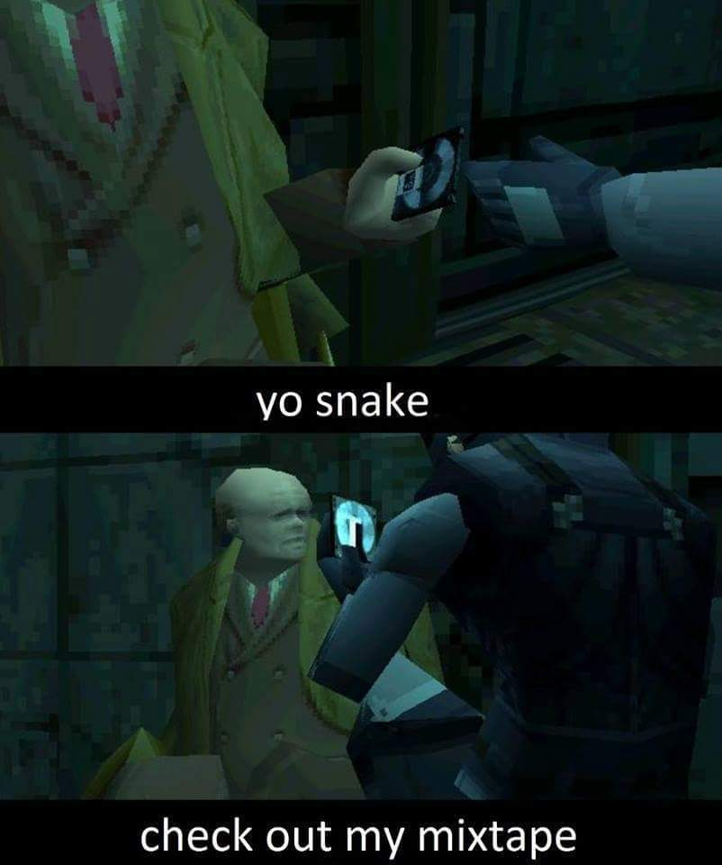 lol didn't know Red Forman was in Metal Gear Solid - meme