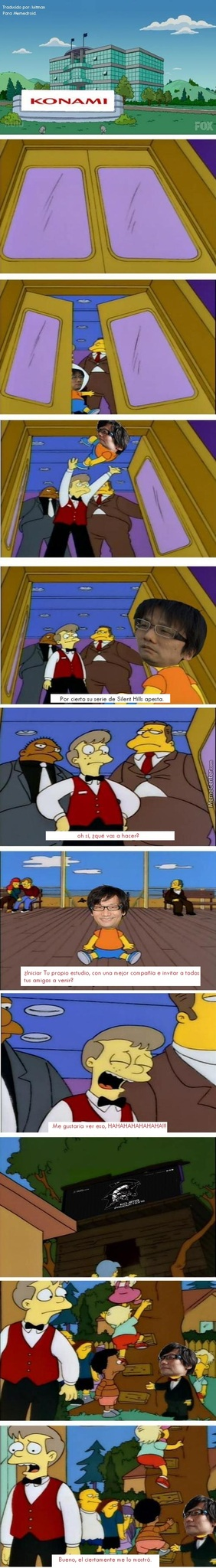 Kojima el p*** amo! - meme