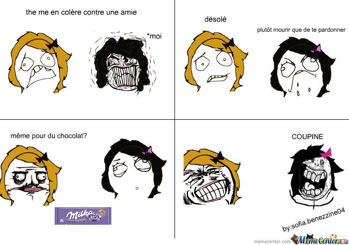 le chocolat! - meme