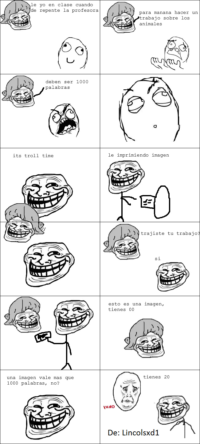 1000 palabras - meme