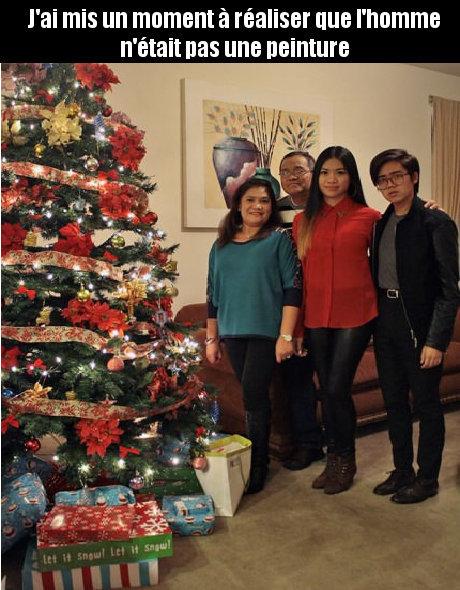 Noel en famille  - meme
