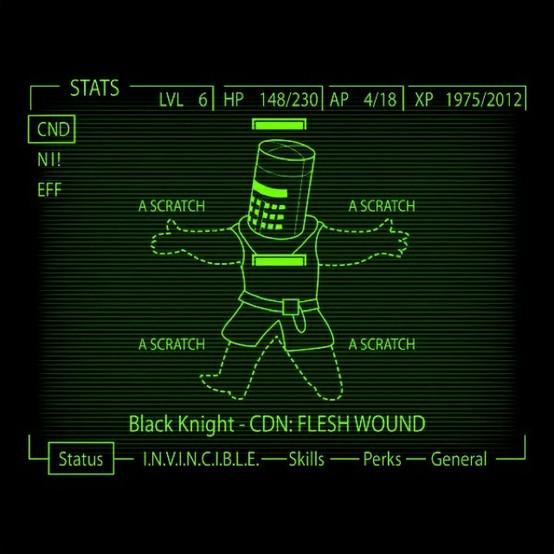 The Black Knight - meme