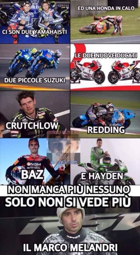 Per chi segue la MotoGP - meme