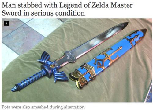 Link sure has sunk low - meme