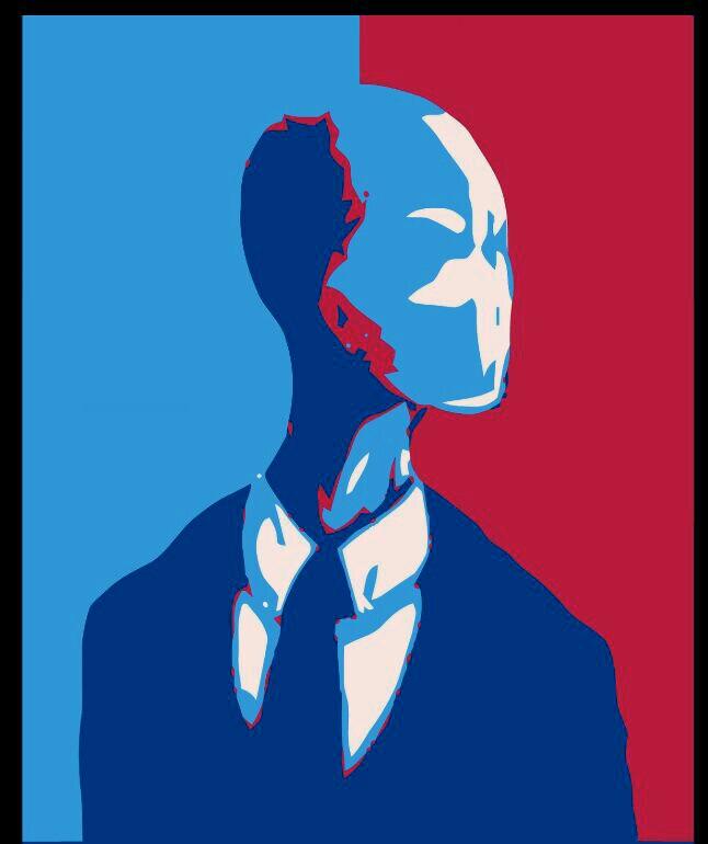 vote for slender as president!^_^ - meme