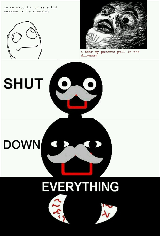 SHUT EVERYTHING DOWN - meme