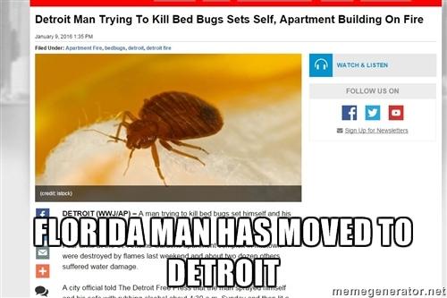 Detroit Man  - meme