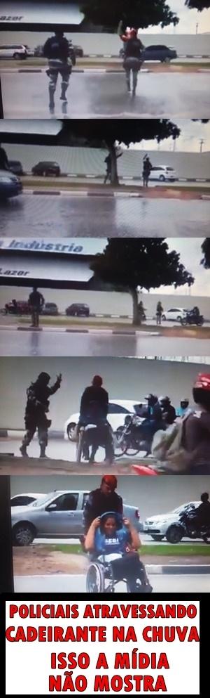 POLICIAIS DE VERDADE - meme