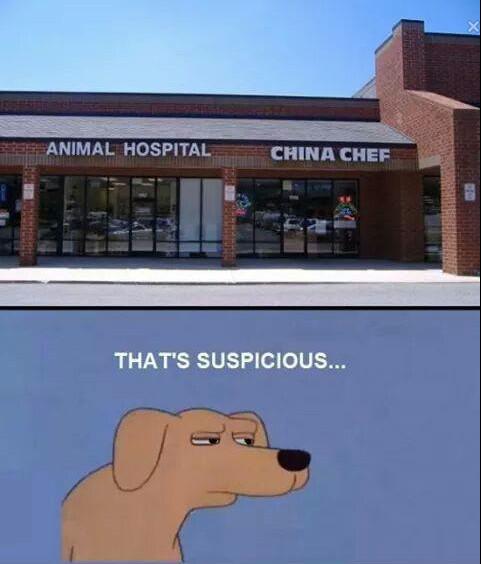 Isso é suspeito - meme