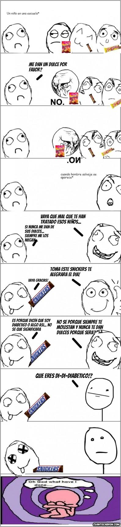 EL NIÑO DIABETICO - meme