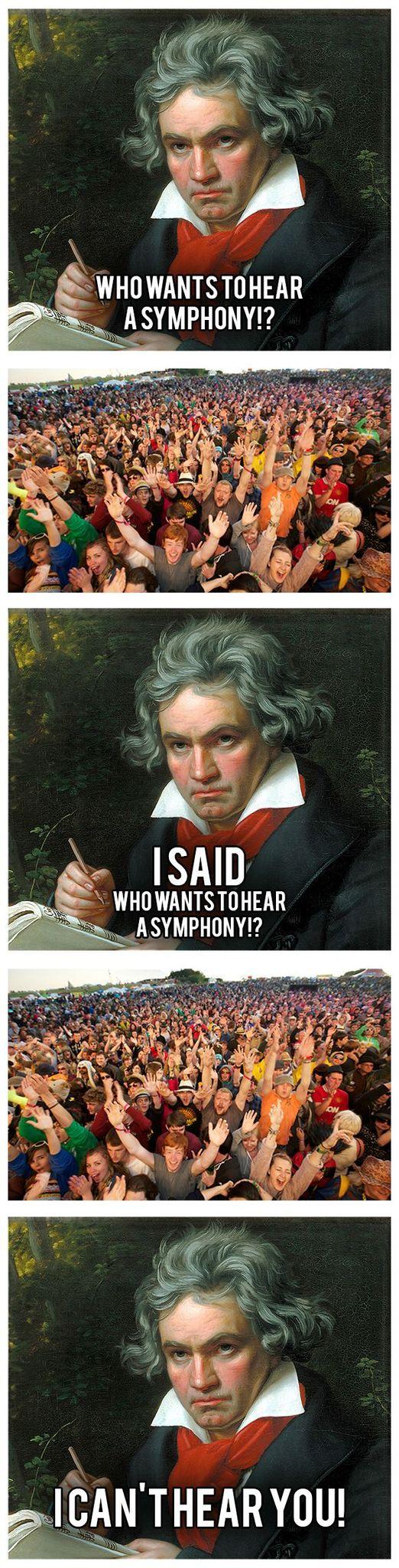 Beethoven - meme