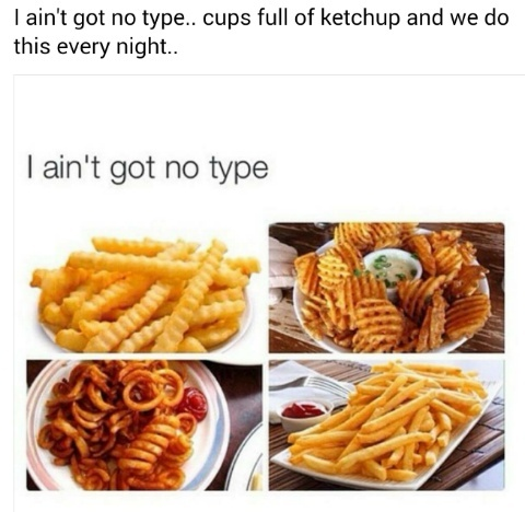 Favorite Fries* - meme