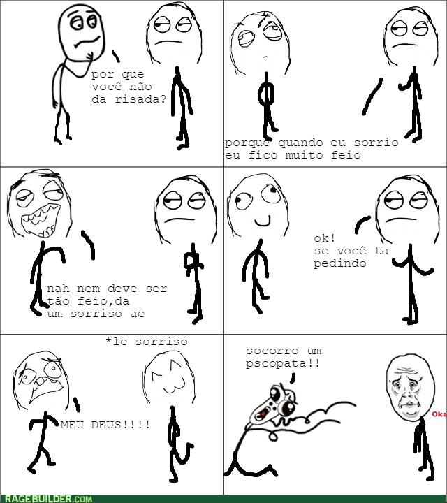 sorria :) - meme