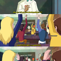 a better question is: why are they learning about photosynthesis in high school? (Scooby Doo! Mystery Incorporated)