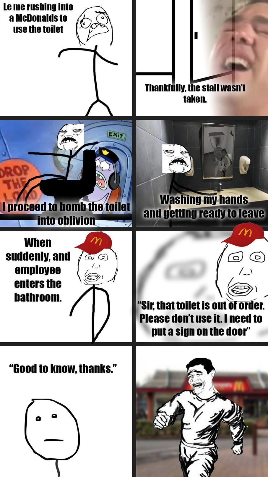 Mcdonalds true story - meme