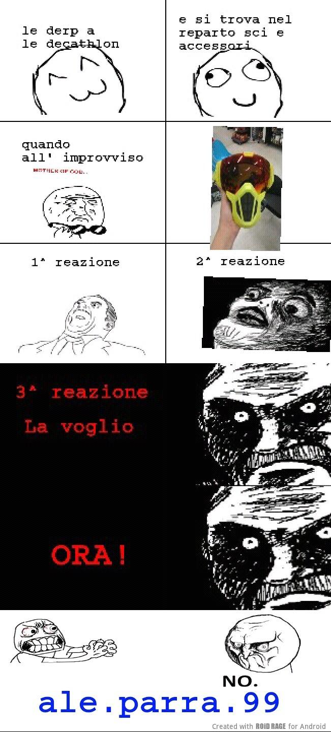 maschera assurda - meme