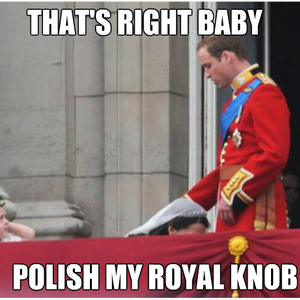 A ROYAL BLOWJOB - meme