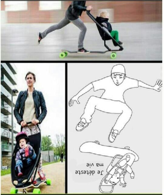 Je suis un skater........... XD  - meme