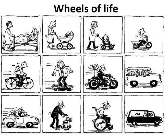 wheels of life - meme
