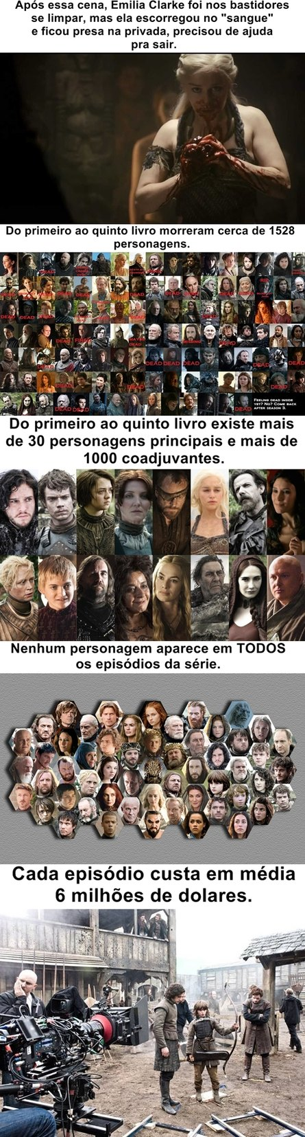 Curiosidades Game of Thrones pt. 3 - meme