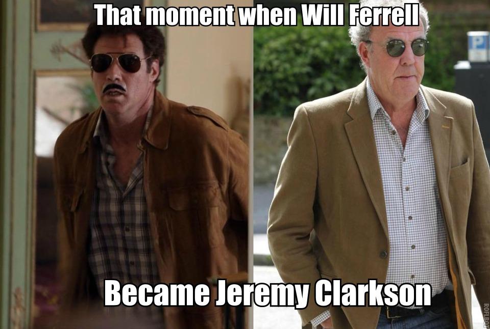 Will Ferrell & jJeremy Clarkson - meme