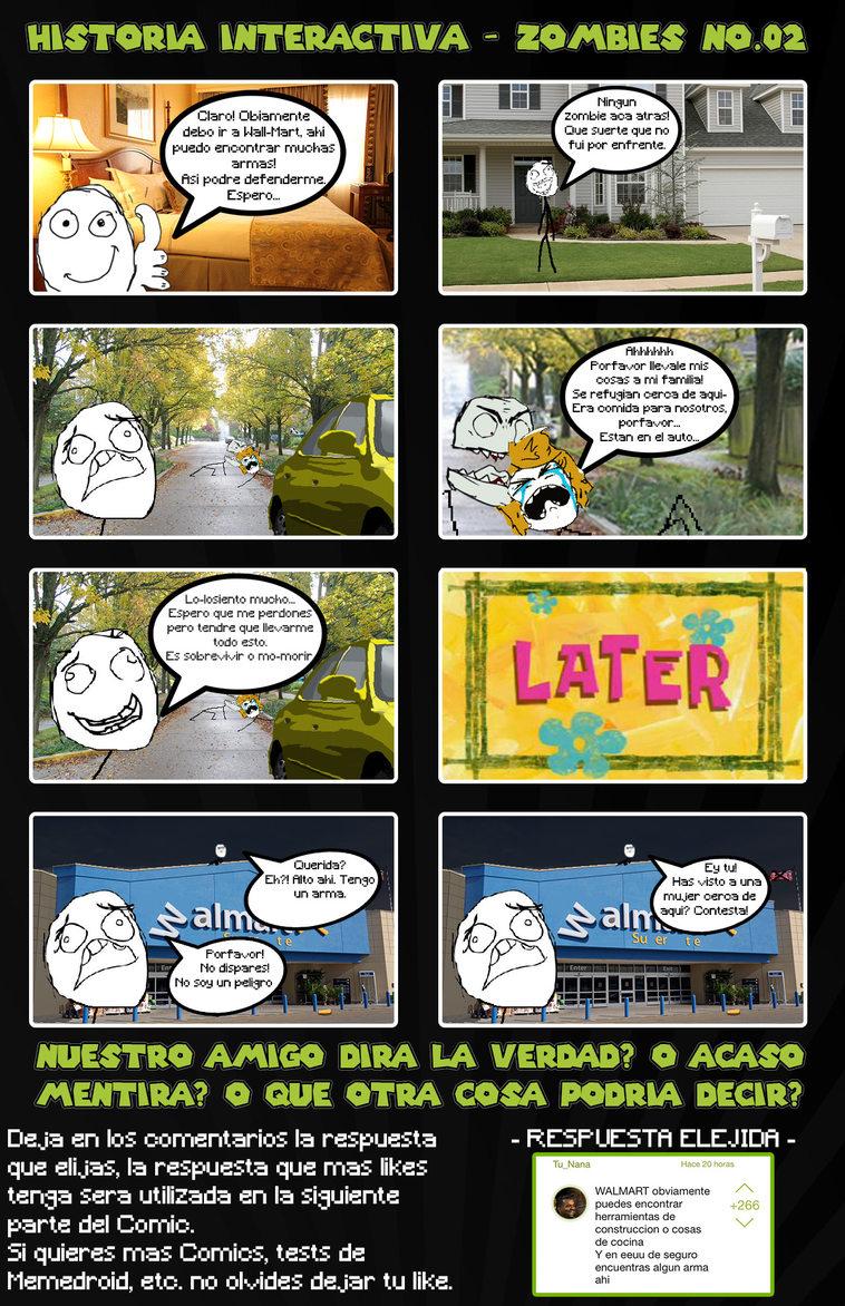 02 Historia Interactiva - Zombies - meme