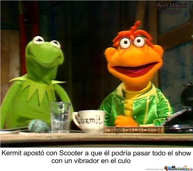 ESO ES KERMIT - meme