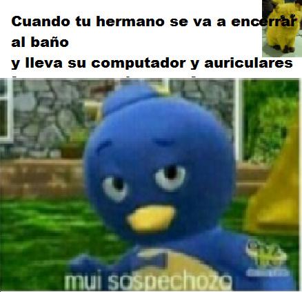 Mui sospechozo( ͠° ͟ʖ ͡°) - meme