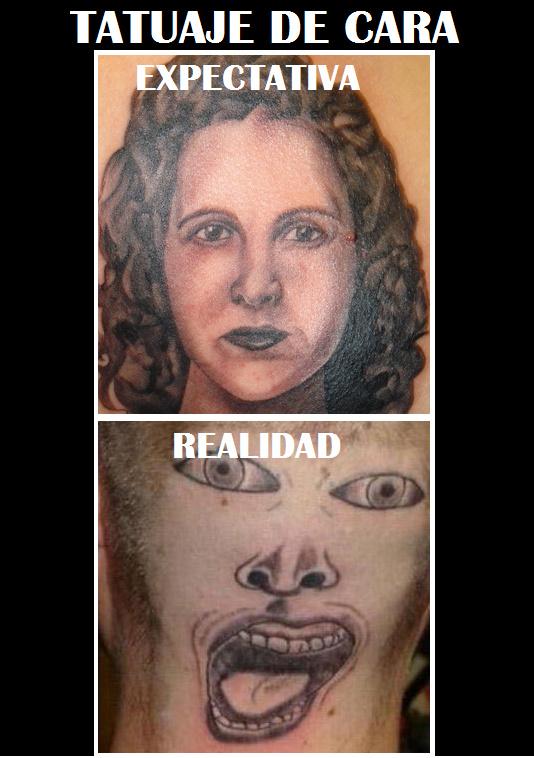 Tatuarse uan cara - meme