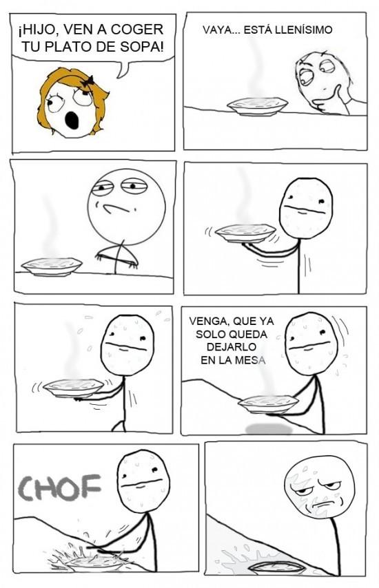 Sopa sopa sopa sopa - meme