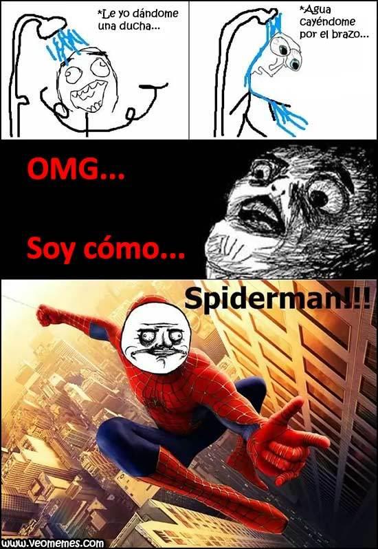 Soy como SpiderMan - meme