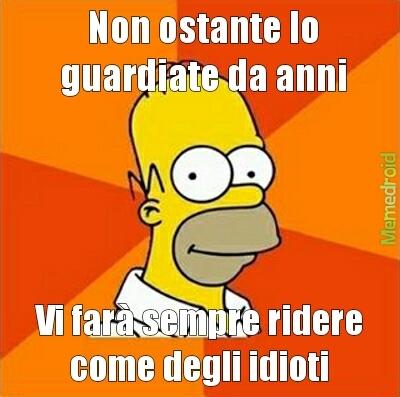Homer True story - meme